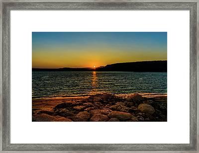 Starvation Sunset Framed Print by TL  Mair