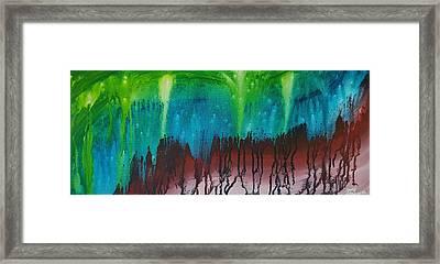 Stary Cave Framed Print