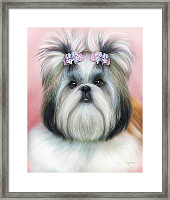 Stassi The Tzu Framed Print
