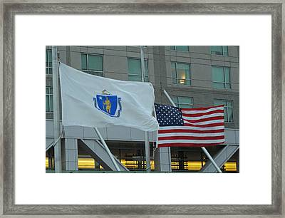State And Country Framed Print by Barbara McDevitt