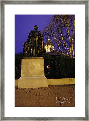 State Capitol Building - Concord New Hampshire Usa Framed Print by Erin Paul Donovan