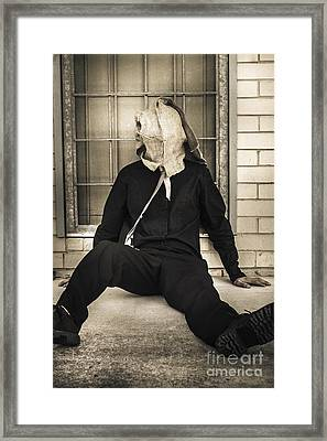 State Of Confusion Framed Print