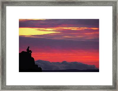 State Of Play Framed Print