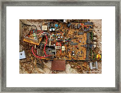 Framed Print featuring the photograph State Of The Art by Christopher Holmes
