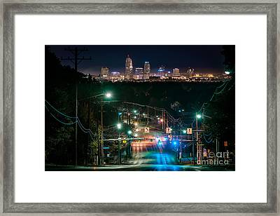 State Rd Hill Parma Looking North Framed Print