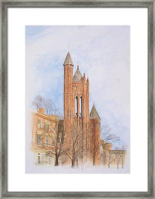 State Street Church Framed Print