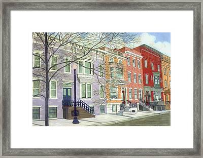 State Street Framed Print by David Hinchen