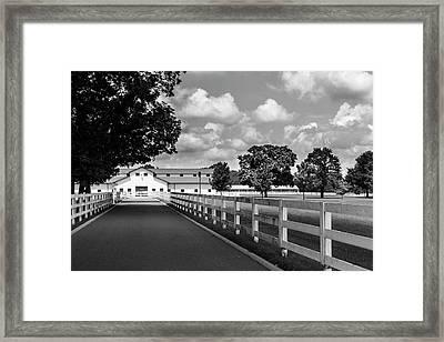 Stately Harlinsdale Framed Print