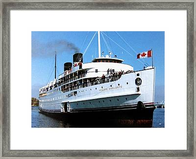 Stately Princess Marguerite Framed Print by Will Borden