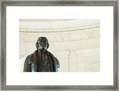 Stately Profile Framed Print