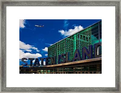 Staten Island Ferry Terminal Framed Print by Chris Lord