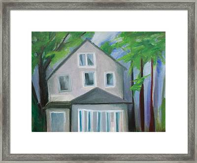 Staten Island House Framed Print by Ron Erickson