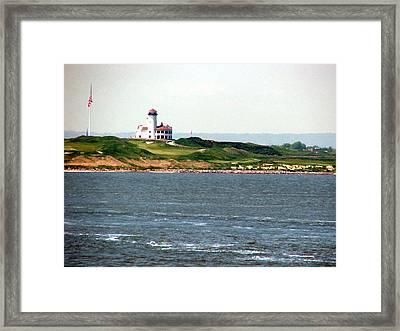 Staten Island Framed Print by Judi Saunders
