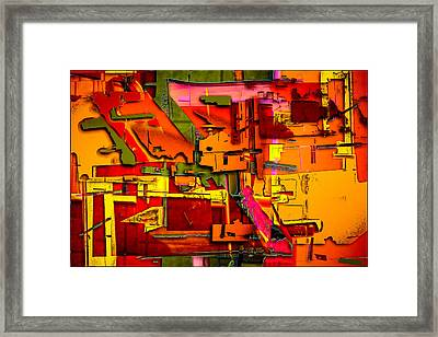 Industrial Autumn Framed Print by Don Gradner