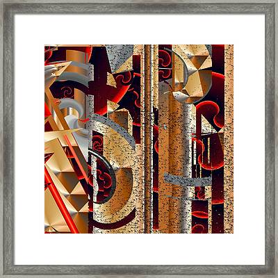 Static Framed Print by Elsbeth Lane