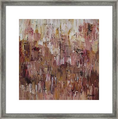 Static Framed Print
