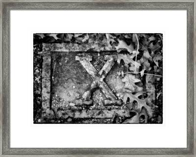 Station 10 Bw - San Juan Capistrano Framed Print by Stephen Stookey