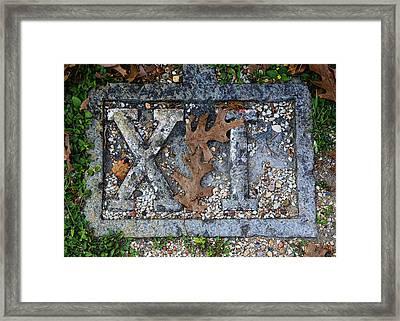 Station 11 - San Juan Capistrano Framed Print by Stephen Stookey