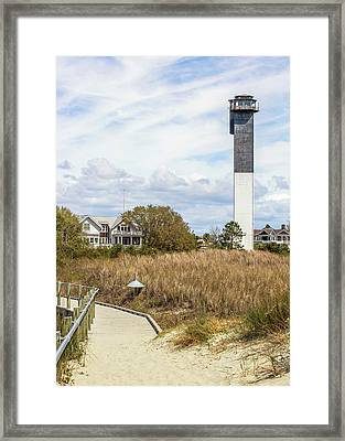 Station 18 On Sullivan's Island, Sc Framed Print