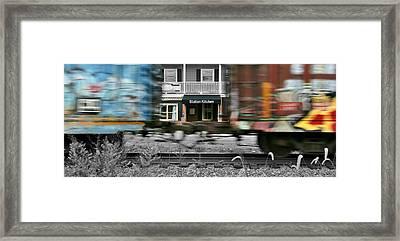 Station Kitchen Framed Print