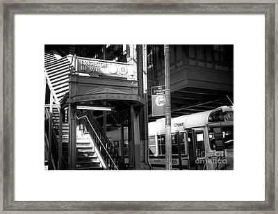 Station Lights Framed Print by John Rizzuto