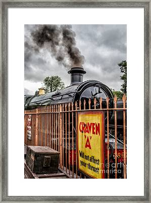 Station Signs Framed Print by Adrian Evans