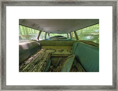 Station Wagon In Color Framed Print