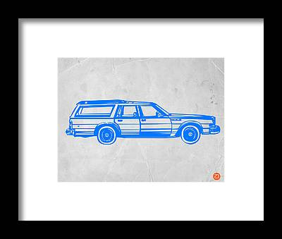 Muscle Car Framed Prints