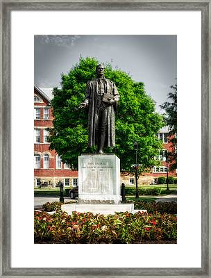 Statue Of Chief Justice John Marshall Framed Print