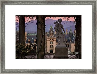 Statue Of Diana Framed Print