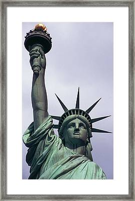 Statue Of Liberty Framed Print by Auguste Bartholdi