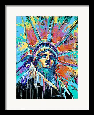 Statue Of Liberty Framed Prints