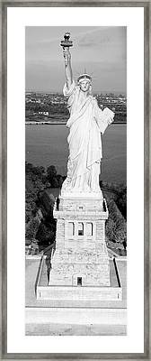 Statue Of Liberty, New York, Nyc, New York City, New York State, Usa Framed Print by Panoramic Images