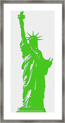 Statue Of Liberty No. 9-1 Framed Print
