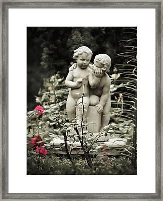 Statue Of Love Framed Print