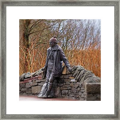 Statue Of Tom Weir Framed Print