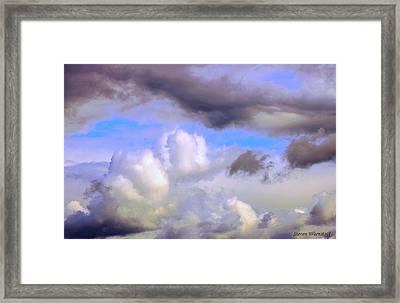 Statues To The Heavens Framed Print by Steve Warnstaff
