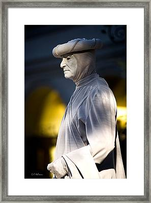 Statuesque Framed Print