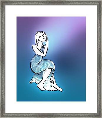 Statuesque Framed Print by Keith A Link