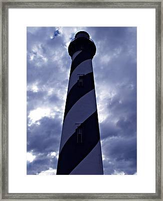 St.augustine Light House Framed Print