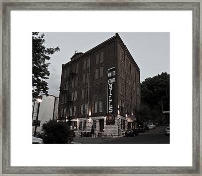 Staunton Mill Street Bar And Grill Framed Print