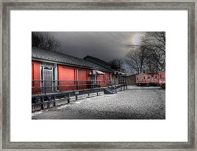 Staunton Va Train Depot Framed Print by Todd Hostetter
