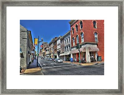 Staunton Virginia Framed Print by Todd Hostetter
