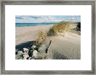 Stavanger Shore Framed Print