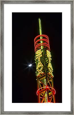 Stax Records Tower Framed Print by Stephen Stookey