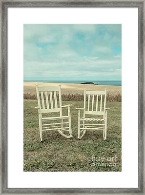 Stay Awhile Prince Edward Island Framed Print