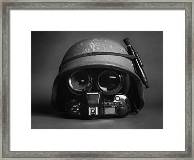Stay Frosty Framed Print by Robert Work
