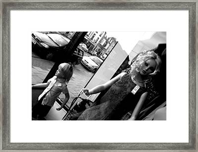 Stay Here Little One Framed Print by Jez C Self