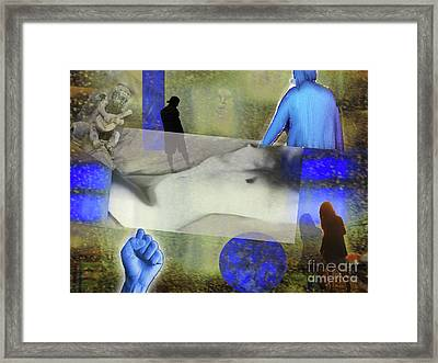 Stay Strong Framed Print by Jeff Breiman