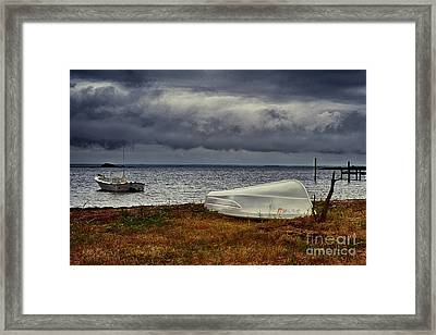 Staying Ashore Framed Print by Mark Miller